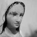 sculpture sainte vierge nantes : john