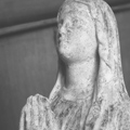 sculpture sainte vierge : plasticienne sioux