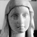 Sculpture Nantes : Plasticienne Sainte Vierge Kissing