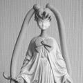 Plasticienne Sculpture Nantes : Sainte Moon