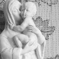 Plasticienne Sculpture Vierge Marie 02